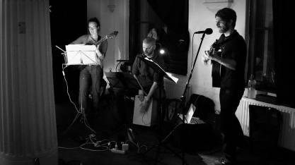 Konzert im Rahmen der Veranstaltungsreihe Q. Kju_Point in Halle, 08. Oktober 2015 © K. Jekeli