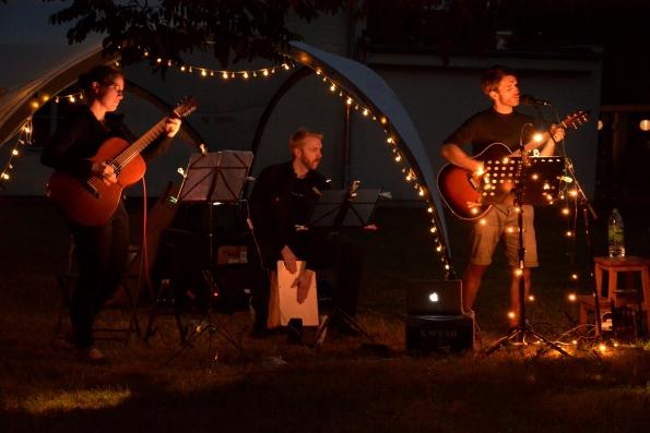 Konzert unter freiem Himmel am Ochsenberg in Halle Kröllwitz, 27. Juni 2015 © D. Meinhardt