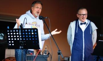 Andreas und Jens eröffnen die Show